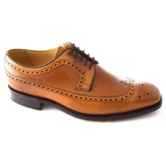 Barker FOSBURY MENS DERBY WINGTIP FORMAL SHOE