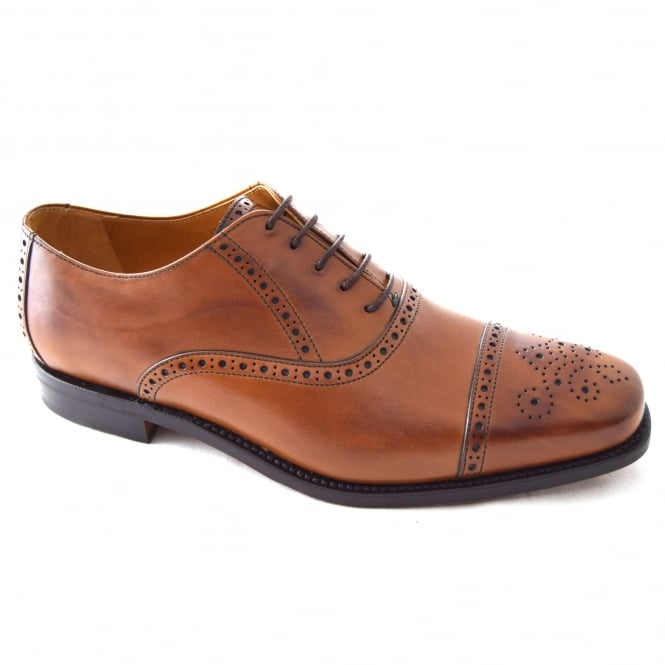 Berwick LEWIS MENS RUBBER SOLE OXFORD BROGUE