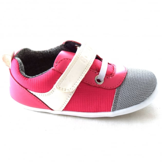 Bobux EDGE KIDS FIRST WALKER SPORTY LOOK SHOE