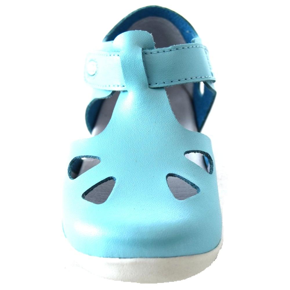 Bobux Zap Kids First Walker Closed Toe Sandal Girls Footwear From