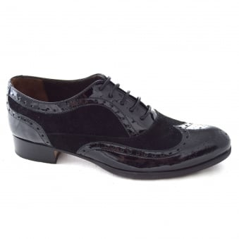 ANNETTA LADIES OXFORD LACE UP WALKING SHOE