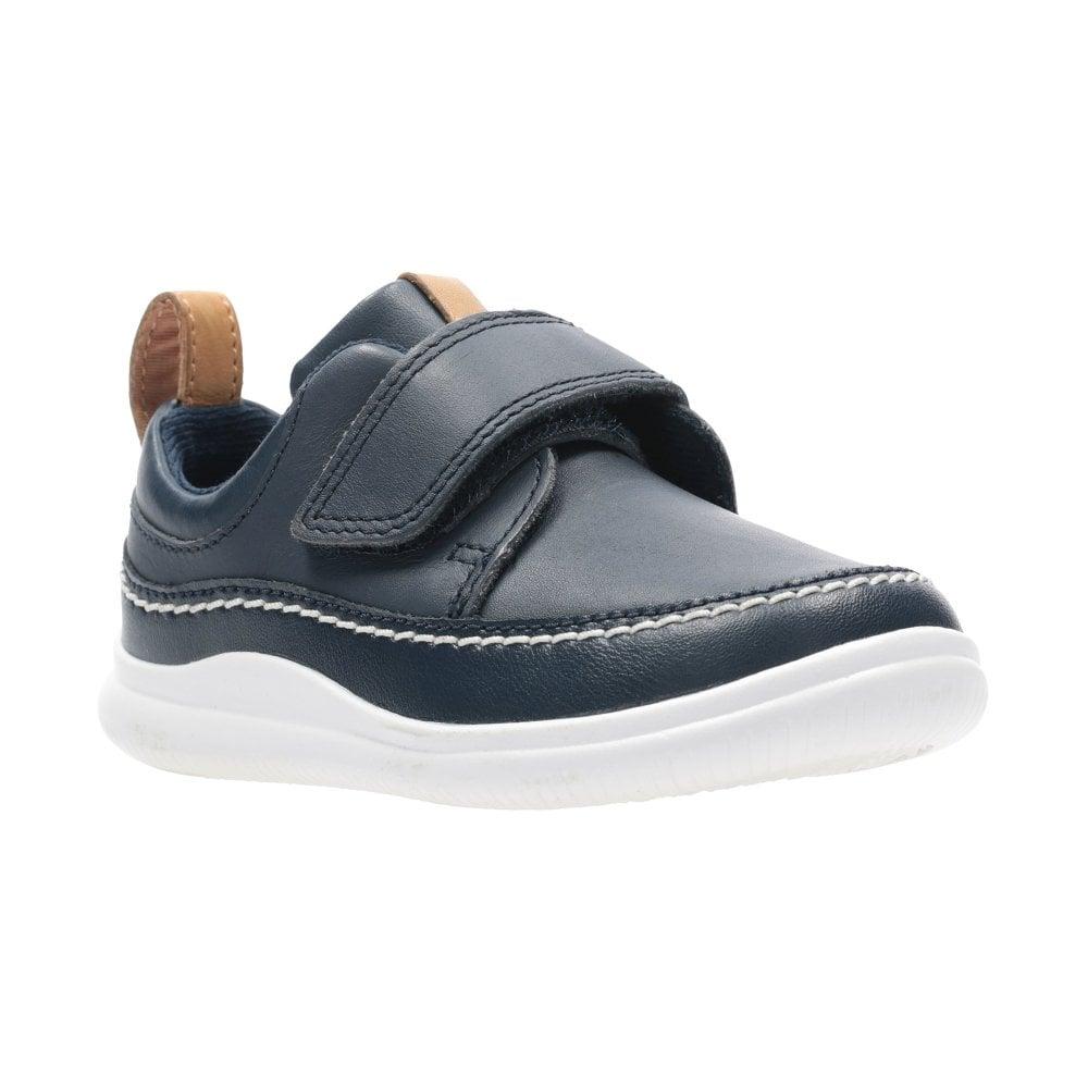 6044aa885529 CLARKS Cloud Ember T Boys Shoe