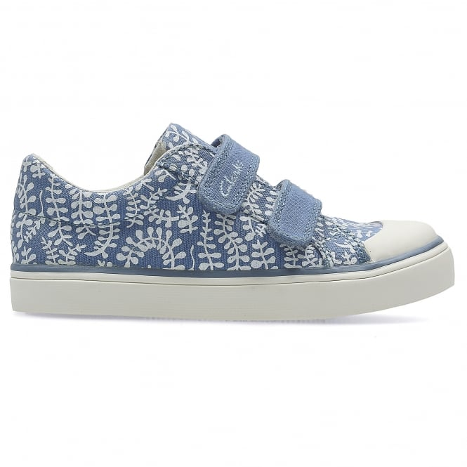 Clarks BRILL ICE INFANT GIRLS CANVAS SHOE