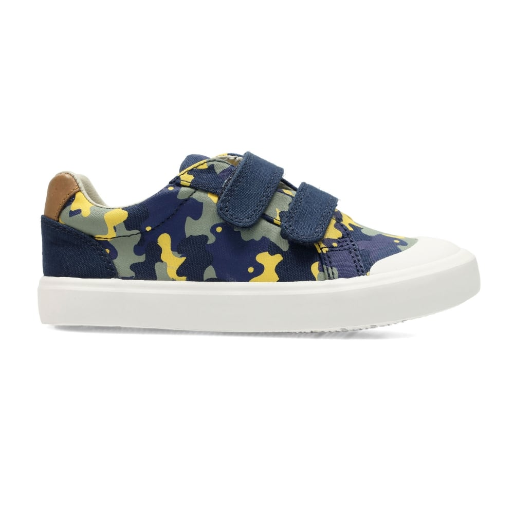 05a531415f9 Clarks COMIC AIR KIDS CANVAS SHOE - Boys Footwear from WJ French and ...