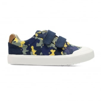 COMIC AIR KIDS CANVAS SHOE