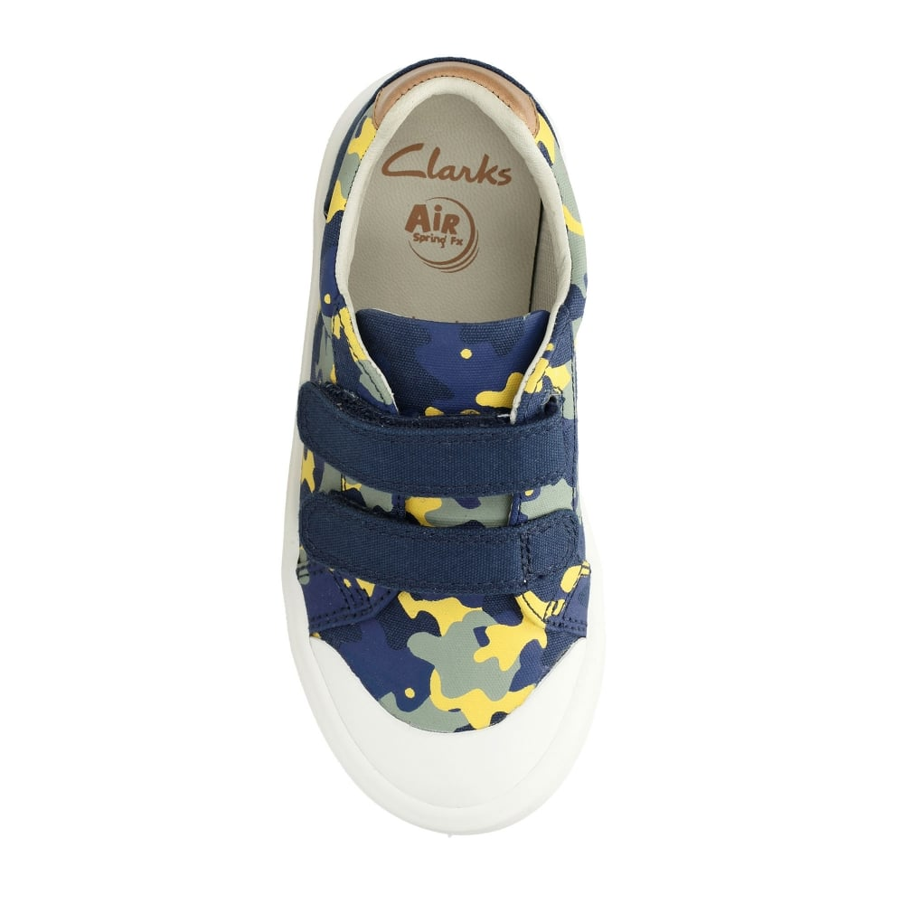9e043849d5231 Clarks COMIC AIR KIDS CANVAS SHOE - Boys Footwear from WJ French and ...