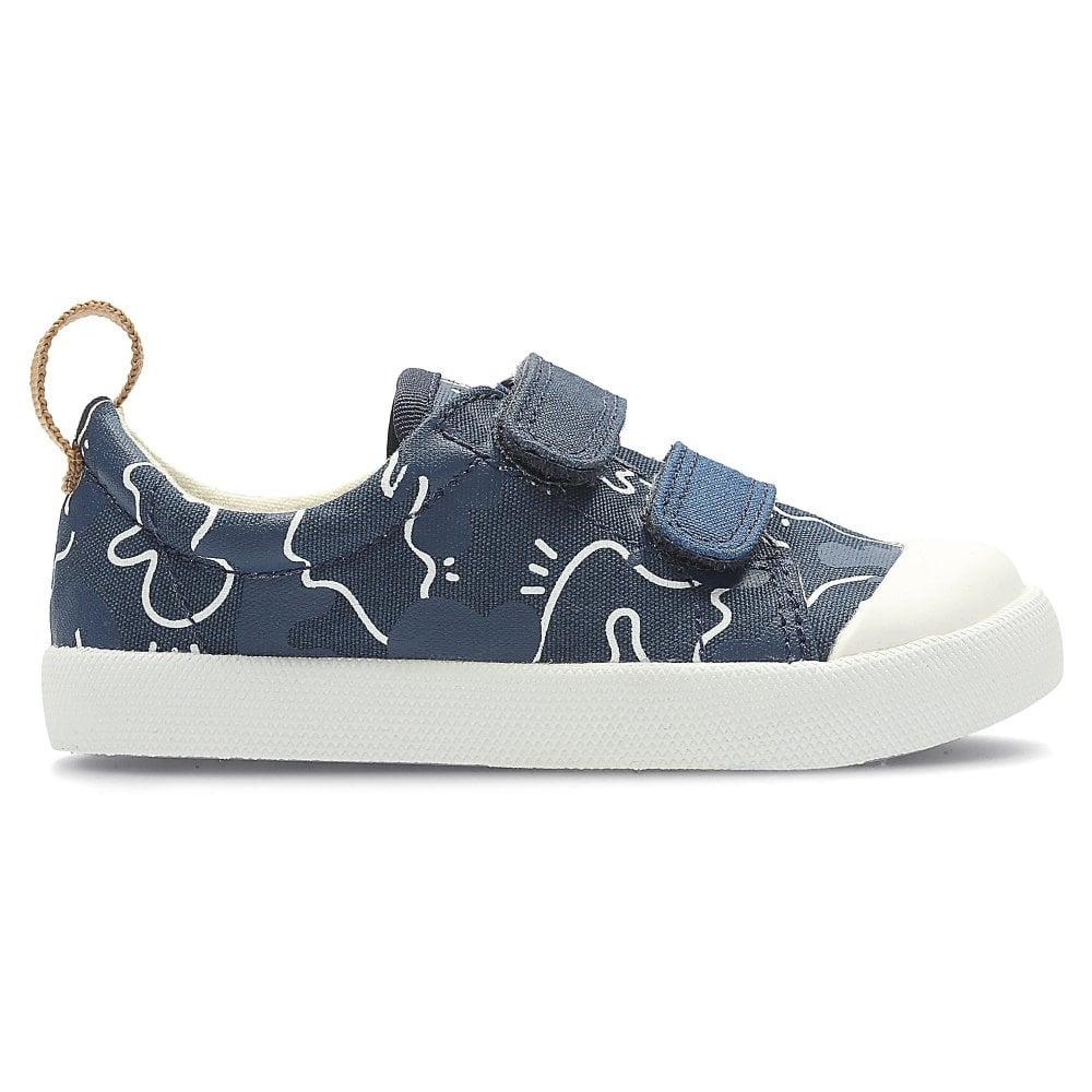 mantener futuro Azul  Clarks HALCY HIGH KIDS FIRST CANVAS SHOE - Boys Footwear from WJ French and  Son UK
