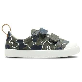 HALCY HIGH KIDS FIRST CANVAS SHOE