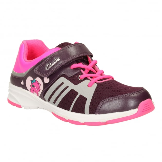 Clarks REFLECT GLO GIRLS SPORTS SHOE