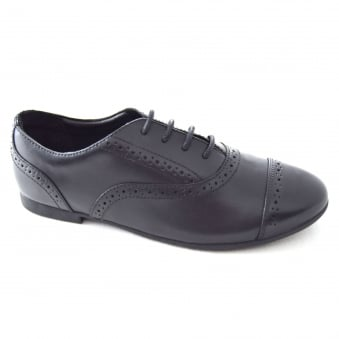 SELSEY COOL GIRLS LEATHER SCHOOL SHOE