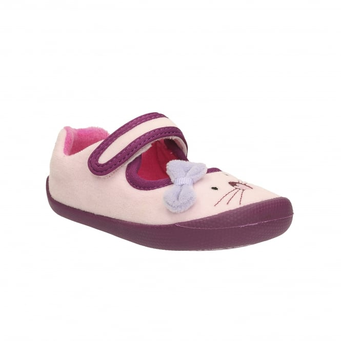 Clarks SHILO CANDY FIRST GIRLS SLIPPPER