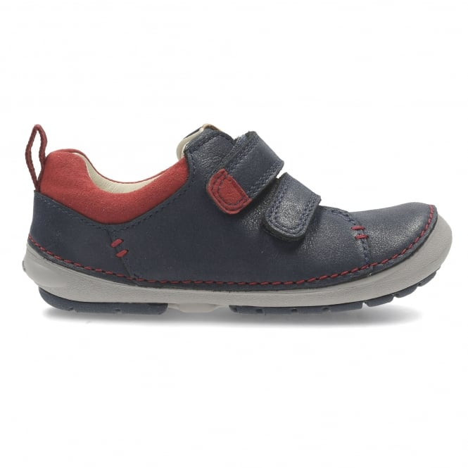 Clarks SOFTLY TOBY KIDS FIRST RIPTAPE SHOE