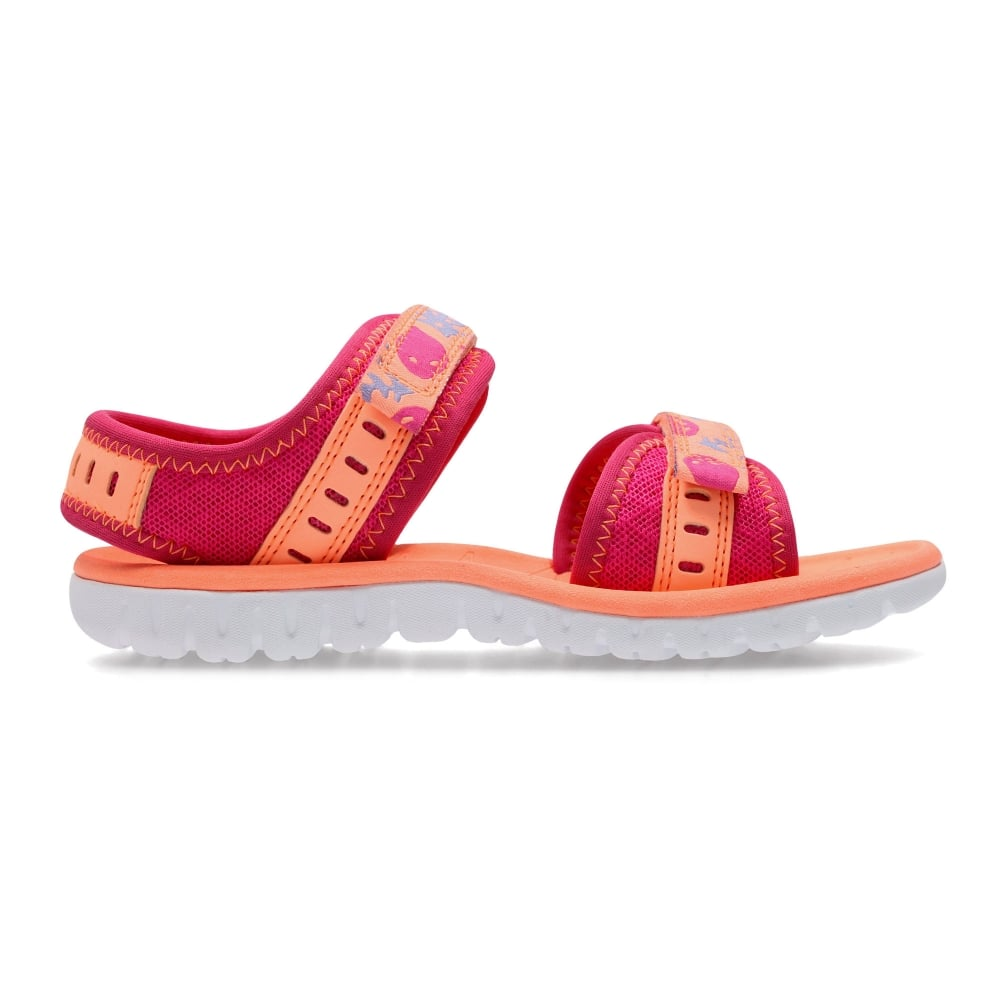 97fb56fd07f4 Clarks SURFING SKIES KIDS SPORT SANDAL - Girls Footwear from WJ ...