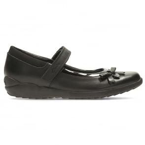 Girls Clarks  Ripetape Strap School Shoe TRIXI ROSE