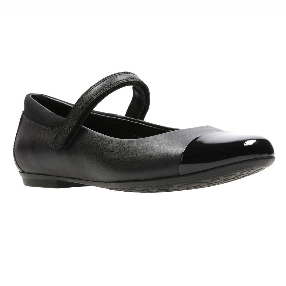 a890531e98 Clarks TIZZ TALK GIRLS RIPTAPE BAR SCHOOL SHOE - Girls Footwear from ...