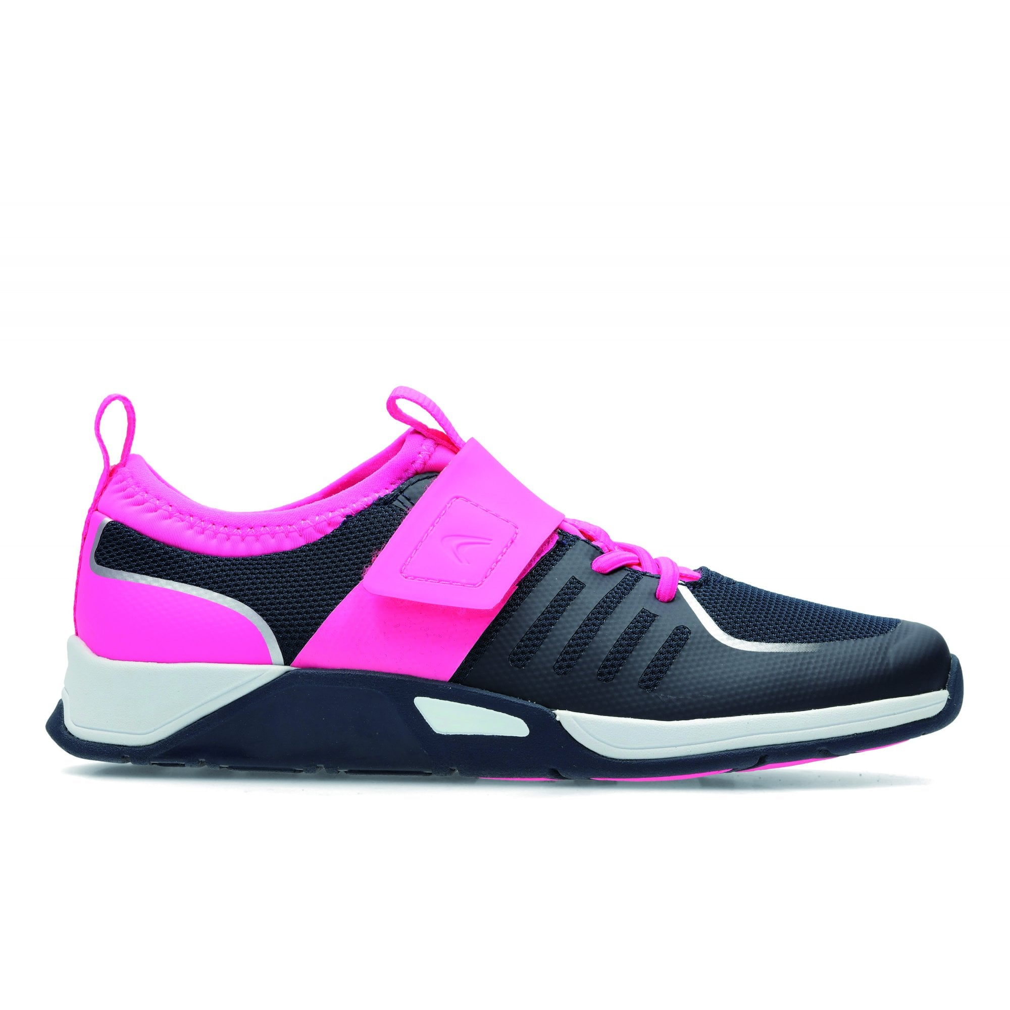 Clarks TRACE COOL JUNIOR GIRLS' TRAINER - Girls Footwear from WJ French and  Son UK