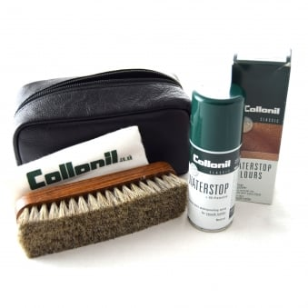 SHOE CARE KIT & LEATHER GIFT BAG