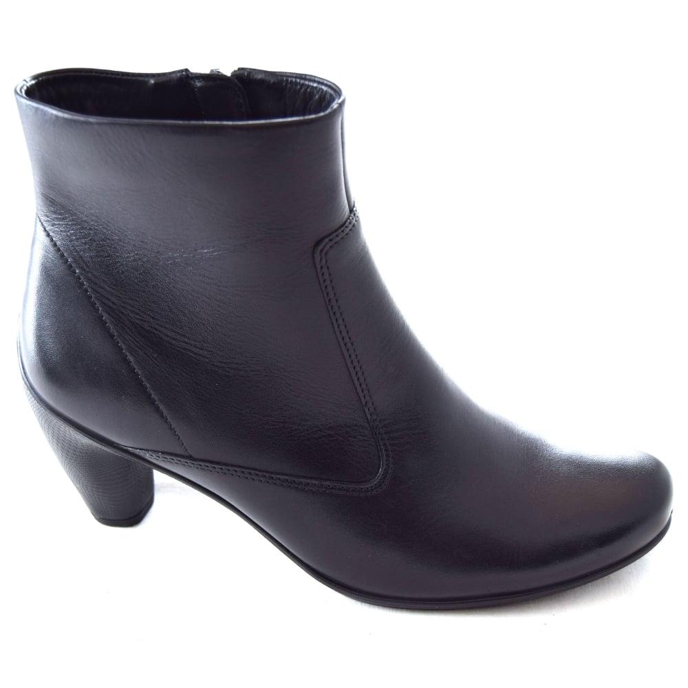 8eb0d6b3b484 Ecco SILVER LADIES LOW HEEL ANKLE BOOT - Womens Footwear from WJ ...