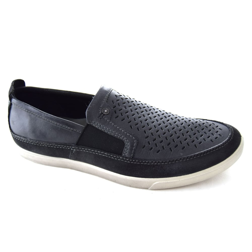 a9c611a01953 Ecco WRANGLER II MEN S SLIP-ON SHOE - Mens Footwear from WJ French ...