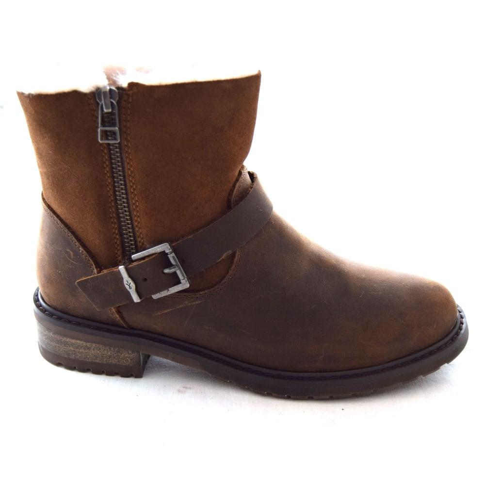 eb20c22e259d Emu ROADSIDE LADIES BUCKLE ANKLE BOOT - Womens Footwear from WJ ...