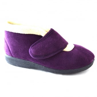 LEVITT MICRO FLEECE LINED SLIPPERS
