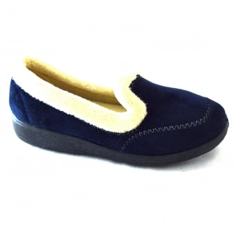 MAIER LADIES MICRO FLEECE LINED SLIPPER