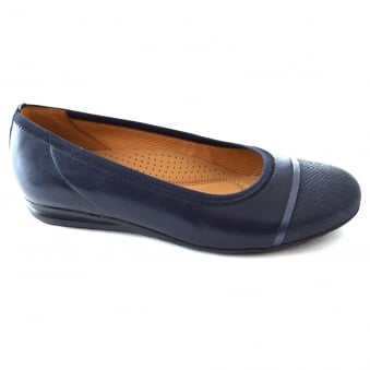 HARLEY LADIES CASUAL PUMP STYLE COURT SHOE