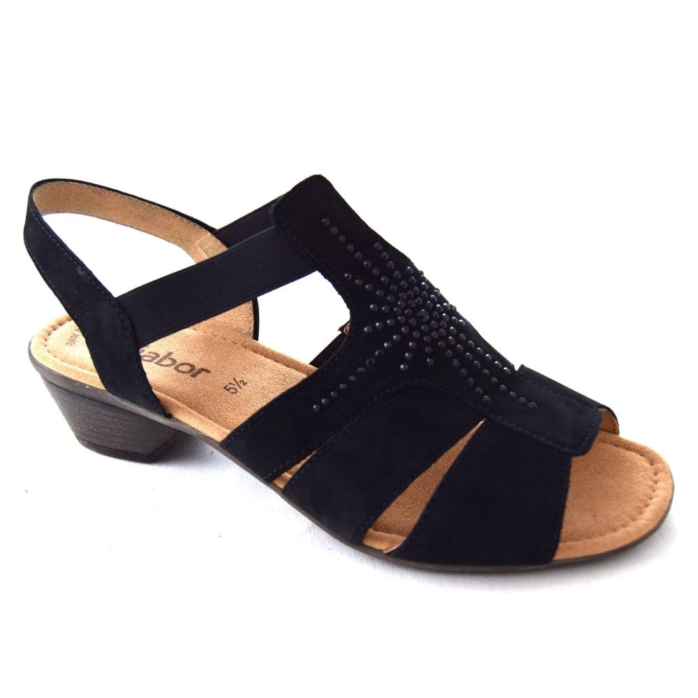 WJ Footwear UK and Womens SANDAL Gabor Son French HONESTY LADIES from eExCQoWrdB