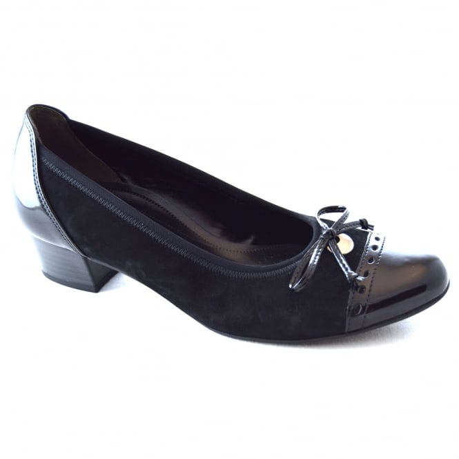 Gabor ISLAY LADIES COURT SHOE WITH BOW