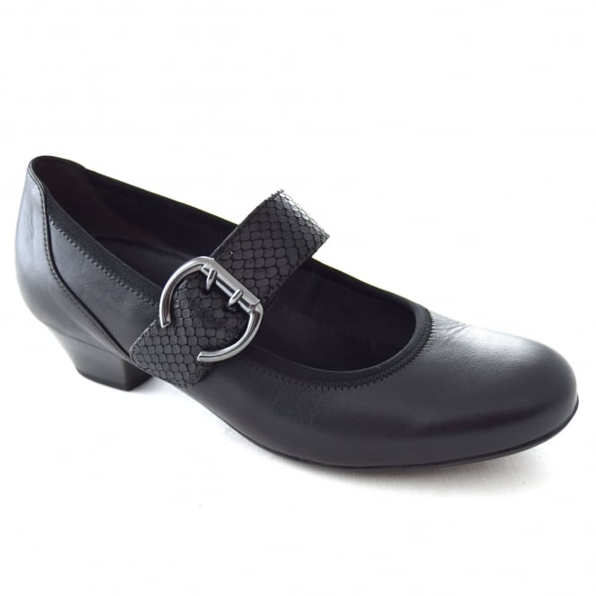 Gabor OUSBY LADIES VELCRO STRAP COURT SHOE