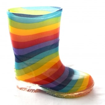 PVC KIDS PRINTED WELLIES