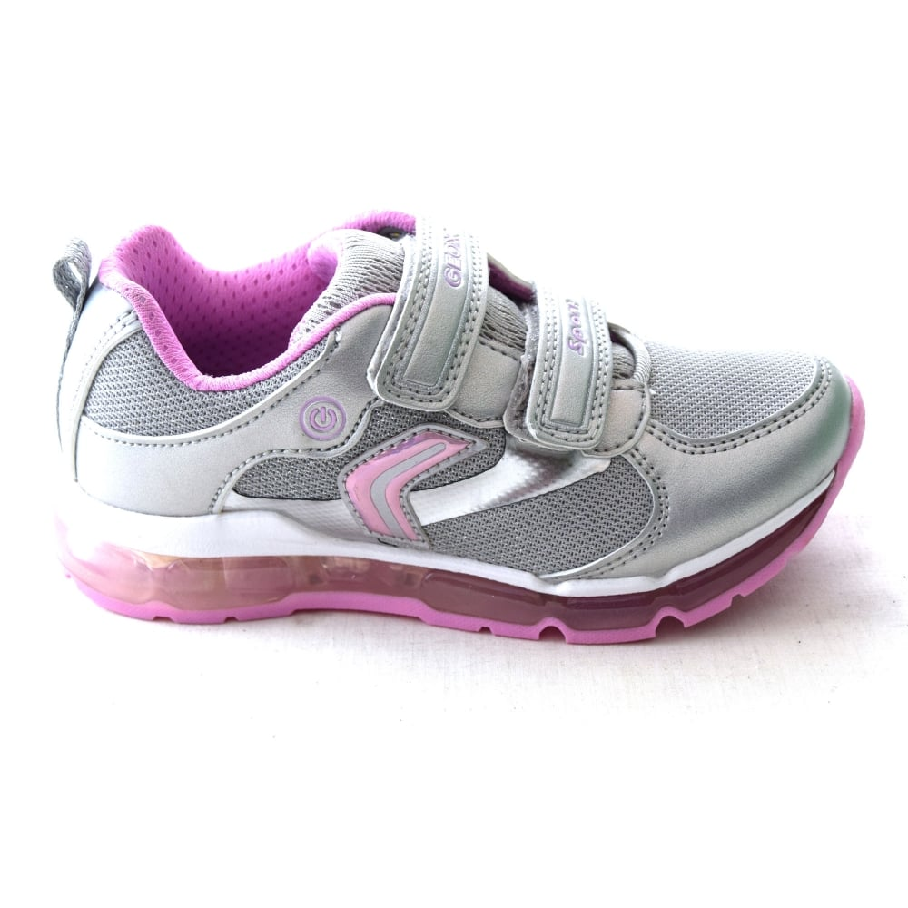 rápido masa tienda  Geox ANDROID GIRL J 8245A GIRLS TRAINER - Girls Footwear from WJ French and  Son UK