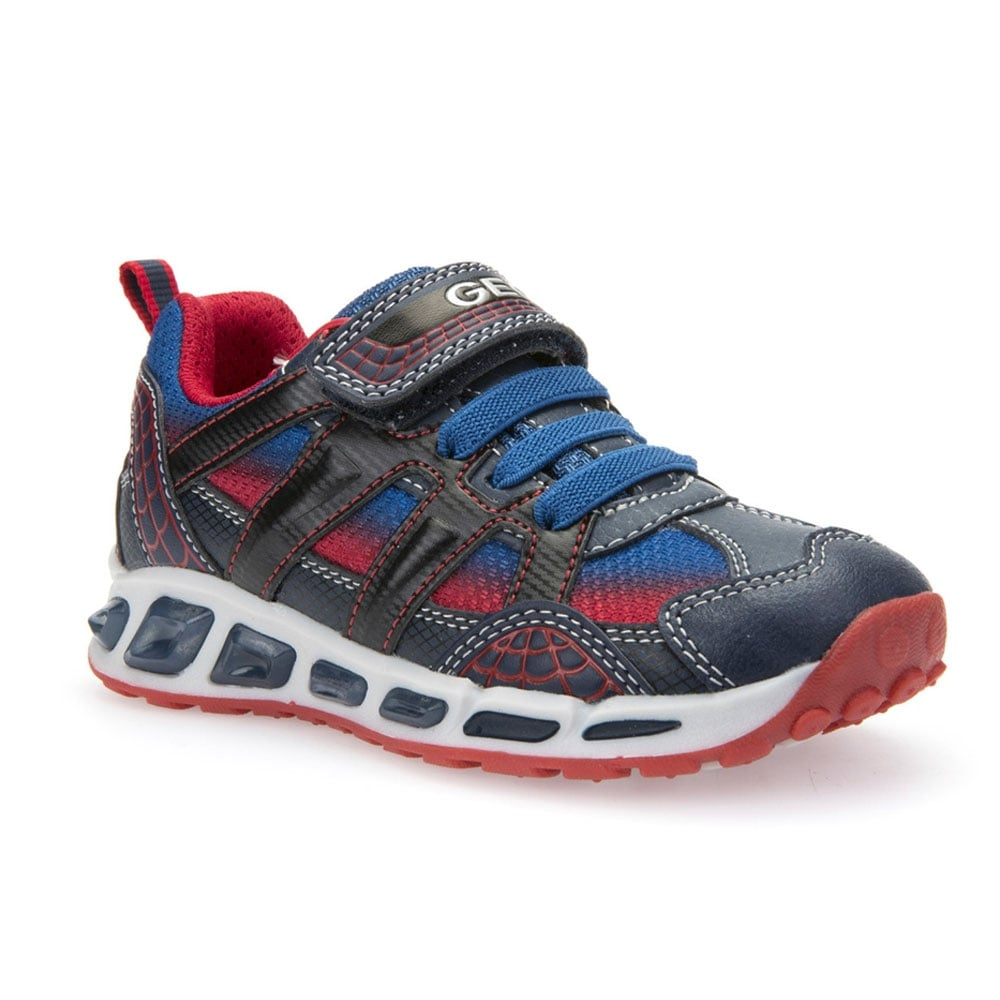 Independiente barrera Continuación  Geox J SHUTTLE B. A BOYS TRAINER - Boys Footwear from WJ French and Son UK