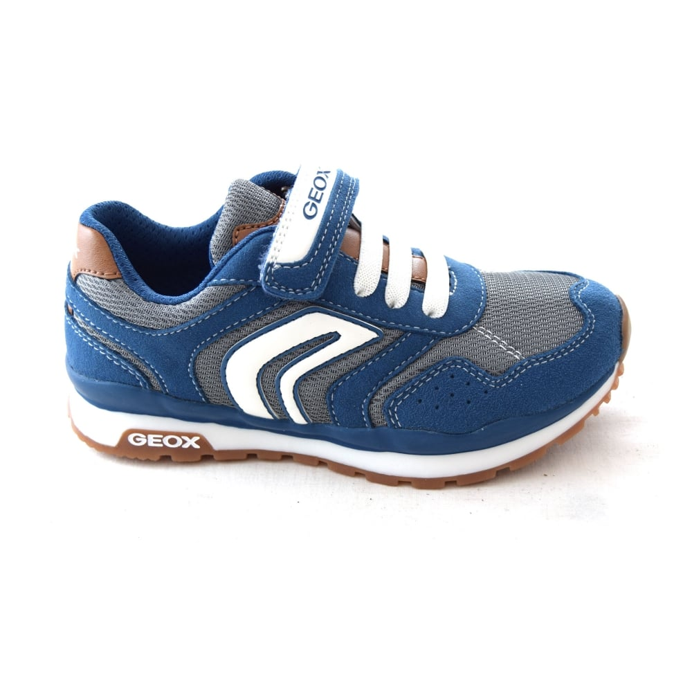 GeoxPAVEL BOY - Trainers - navy/avio NXXatHmZtZ