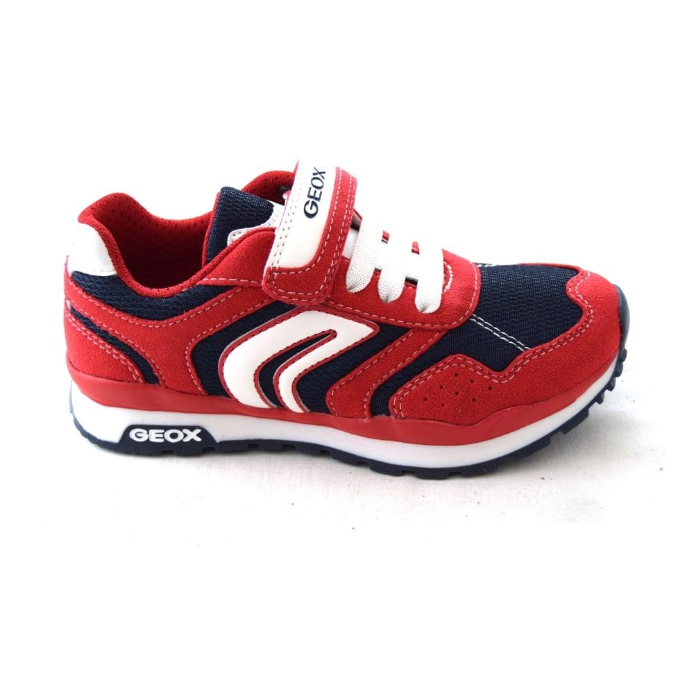 b75c4039cd32b Geox PAVEL B J7215B KIDS' TRAINER - Boys Footwear from WJ French and ...