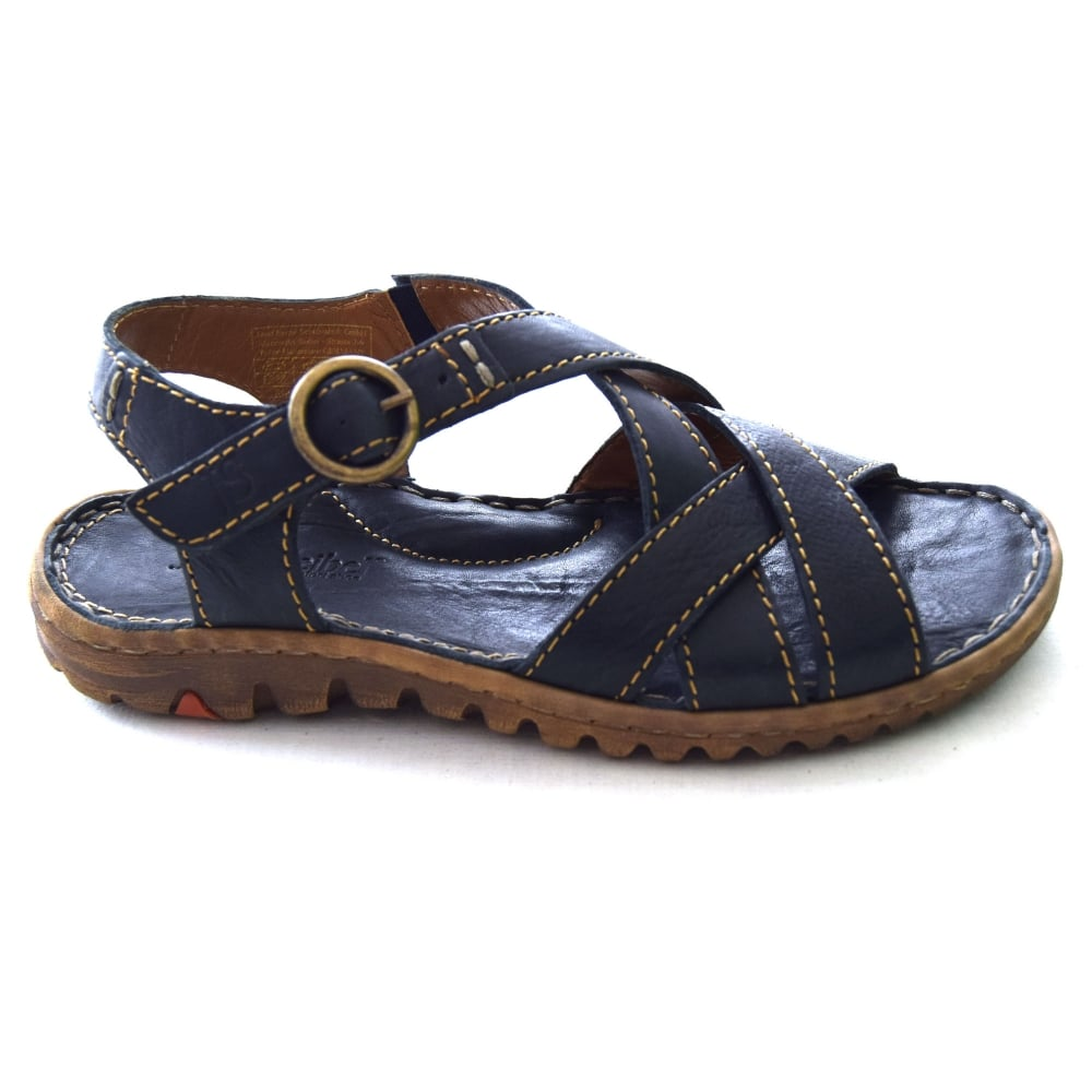 Womens Lucia 01 Flip Flops, Blue, 4 UK Josef Seibel