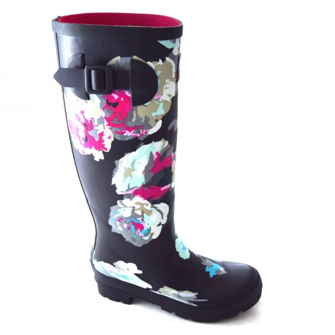 Joules BEAU BLOOM LADIES PRINTED WELLIES