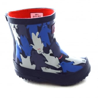 BOYS' MULTI BEAR CAMO PRINT WELLIES