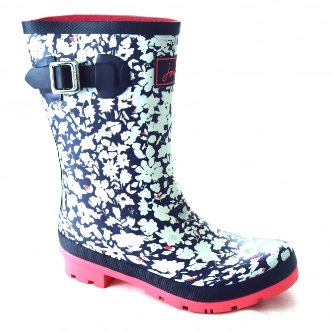 Joules MOLLY LADIES PRINTED MID-HEIGHT WELLIES