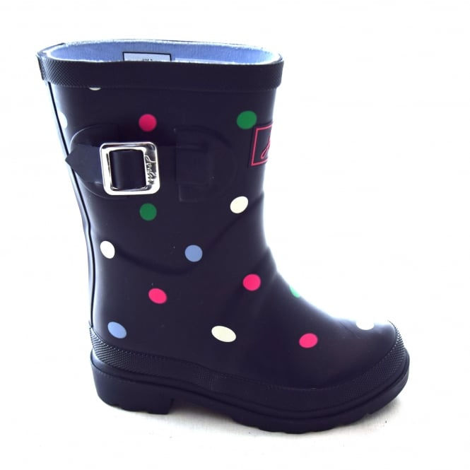 Joules MULTI SPOT GIRLS WELLY