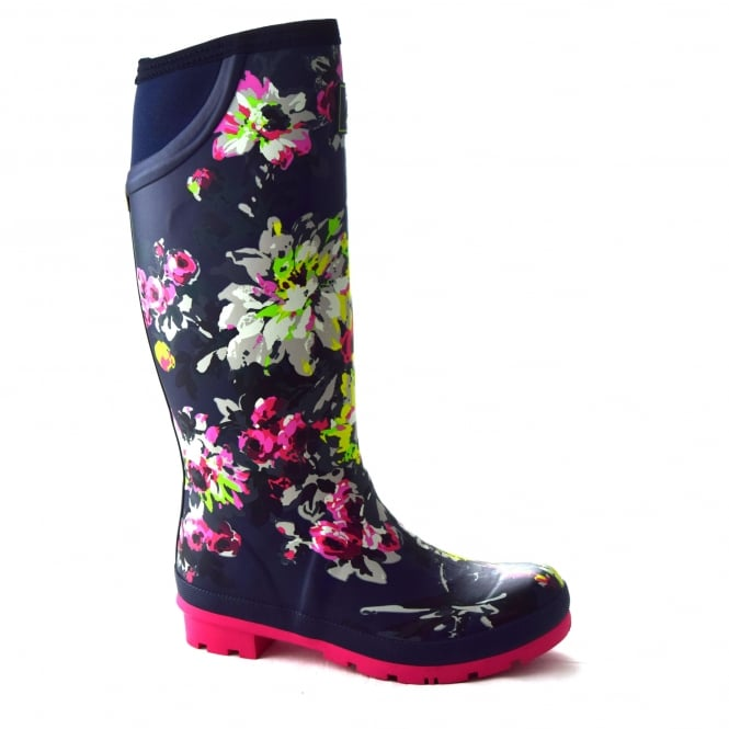 Joules NEOLA LADIES FLORAL WELLY