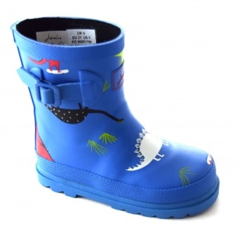 SKATEASARUS BOYS PRINTED WELLY