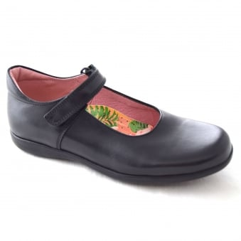 BEA GIRLS VELCRO STRAP SCHOOL SHOE