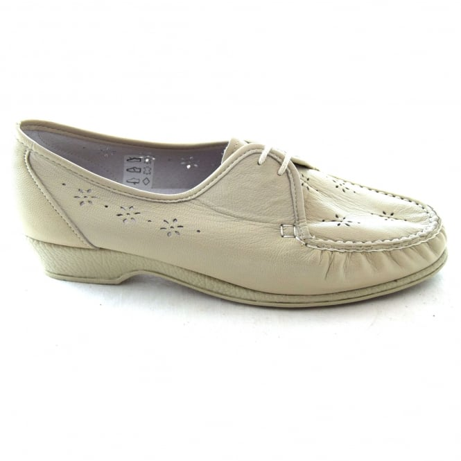 Sandpiper NAOMI LADIES LACE UP MOCCASIN STYLE SHOE