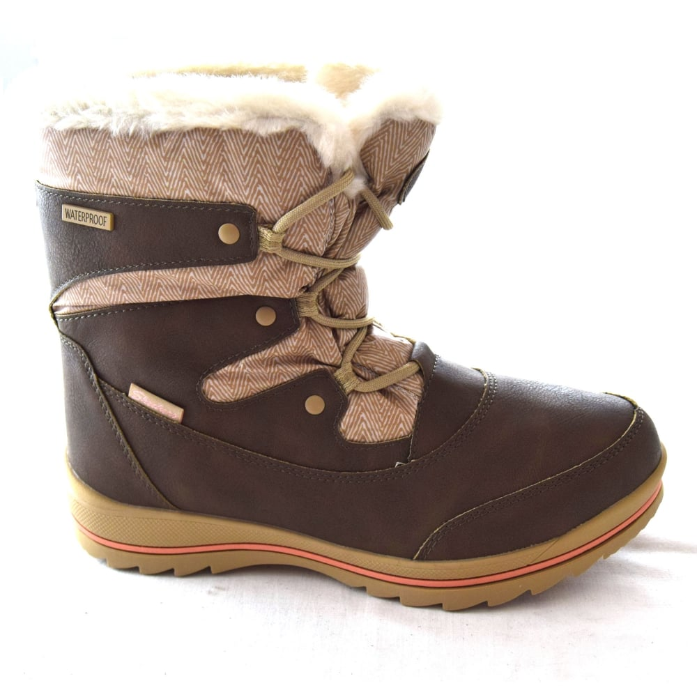 skechers snow boots ladies