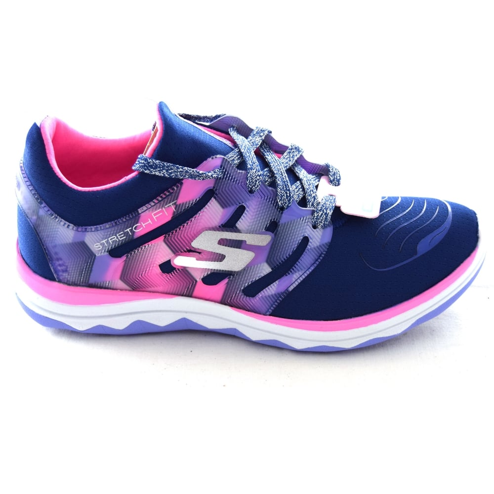 07a7564620f7 Skechers DIAMOND RUNNER GIRLS TRAINER - Girls Footwear from WJ ...