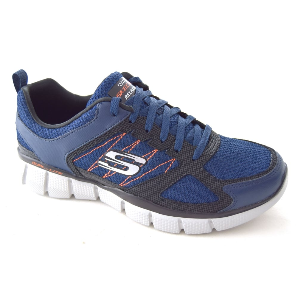 ca5eeefd7b015 Skechers EQUALIZER 2.0 ON TRACK MENS TRAINER - Mens Footwear from WJ ...