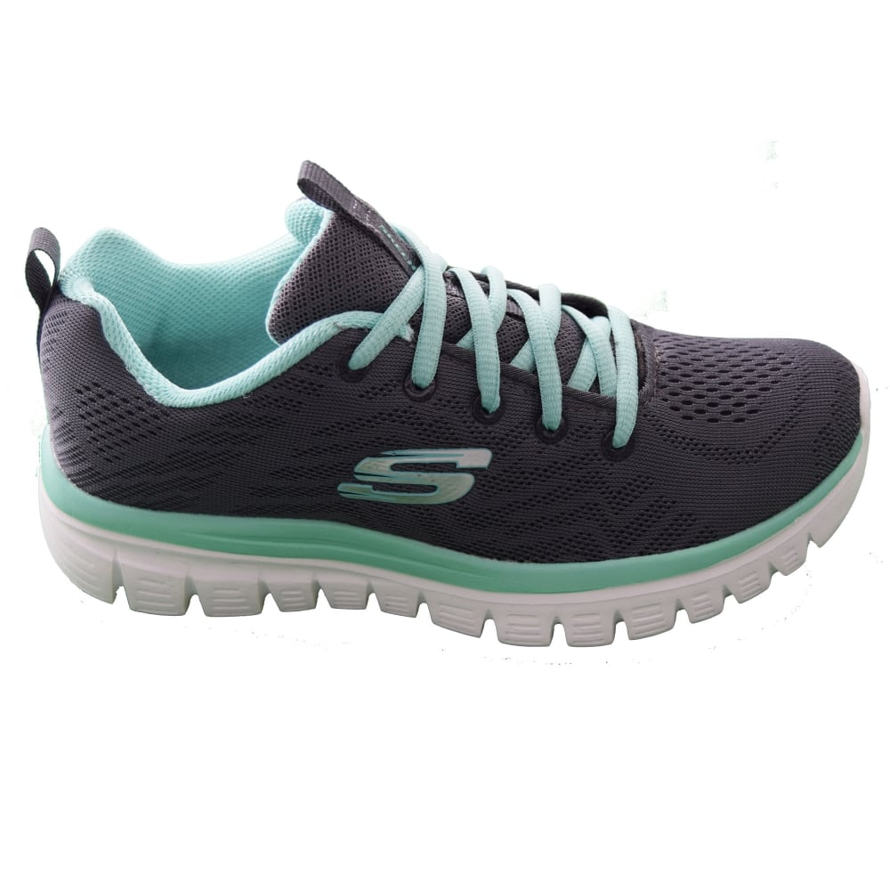 e6cca88374cd Skechers GRACEFUL - GET CONNECTED LADIES TRAINER - Womens Footwear ...