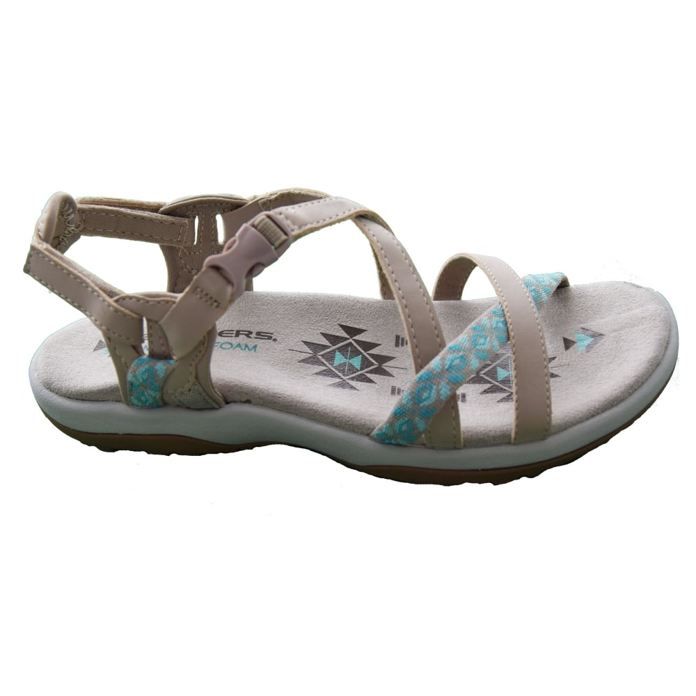 8aacac0e7936 Skechers REGGAE SLIM - VACAY LADIES SANDAL - Womens Footwear from WJ ...