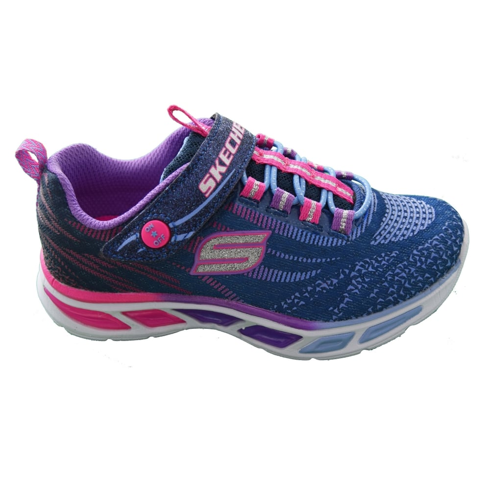 Skechers S LIGHTS  LITEBEAMS GIRLS TRAINER - Girls Footwear from WJ ... fd24322af27e